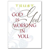 God Is Working In You