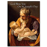 God Bless You on St. Joseph's Day