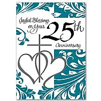 Joyful Blessings on Your 25th Anniversary
