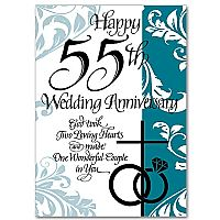 Happy 55th Wedding Anniversary