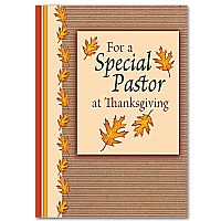 For a Special Pastor at Thanksgiving