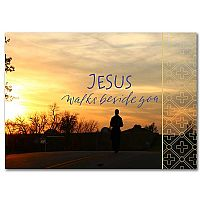 Jesus Walks Beside You