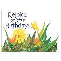 Rejoice on Your Birthday!