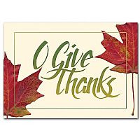 O Give Thanks