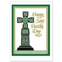 Celtic Cross Pillar