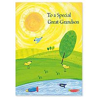 To a Special Great-Grandson