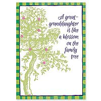 A Great-Granddaughter Is a Blossom on the Family Tree