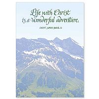Life with Christ Is a Wonderful Adventure