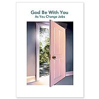 God Be with You as You Change Jobs