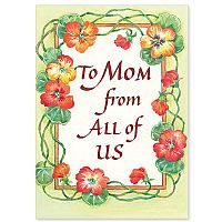 To Mom From All of Us
