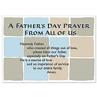 A Father's Day Prayer From All of Us