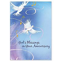 God's Blessings on Your Anniversary