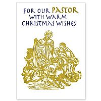 For Our Pastor with Warm Christmas Wishes