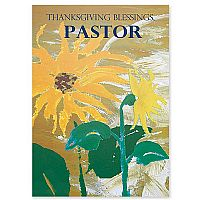 Thanksgiving Blessings Pastor