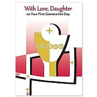 With Love, Daughter on Your First Communion Day