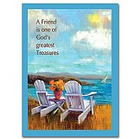 A Friend Is One of God's Greatest Treasures