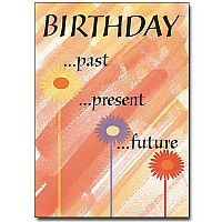 Birthday Past Present Future