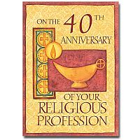 40th Anniversary of Religious Profession