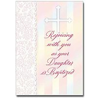Rejoicing with You as Your Daughter Is Baptized