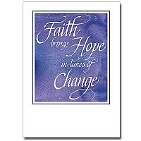 Faith Brings Hope...