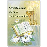 Congratulations on Your First Communion