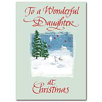 To a Wonderful Daughter at Christmas