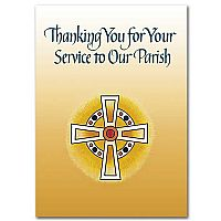 Thanking You for Your Service to Our Parish