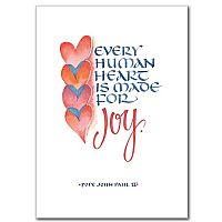 Every Human Heart Is Made for Joy