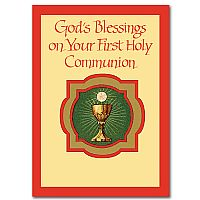 God's Blessings on Your First Holy Communion