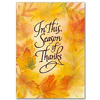 In This Season of Thanks
