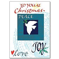 To You at Christmas Peace Love Joy