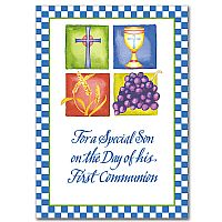 For a Special Son on the Day of his First Communion