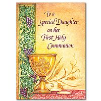 To a Special Daughter on her First Holy Communion