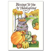 Blessings to You At Thanksgiving