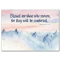 Blessed are those who mourn