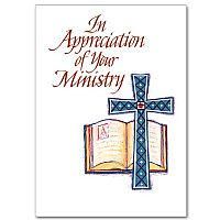 In Appreciation of Your Ministry