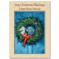May Christmas Blessings Enter Your Home