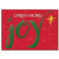 Joy Christ is Born
