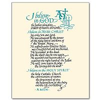 This is a picture of Breathtaking Printable Apostles Creed