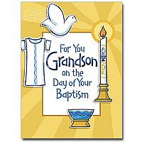 For You Grandson (Baptism)