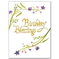 Christian birthday cards buy religious birthday card assortment birthday blessings bookmarktalkfo Image collections