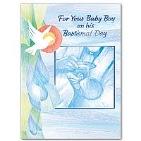 For Your Baby Boy On His Baptismal Day