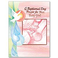 A Baptismal Day Prayer for Your Baby Girl