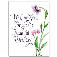 Wishing You a Bright and Beautiful Birthday