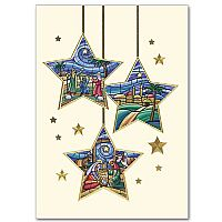 Three Star Ornaments