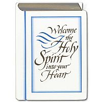 Welcome the Holy Spirit...