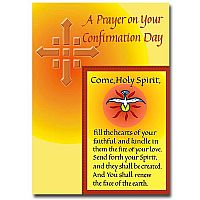 A Prayer on Your Confirmation Day