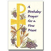 A Birthday Prayer for a Fine Priest