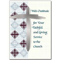 With Gratitude for Your Faithful and Loving Service