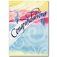 Congratulations (Watercolor)
